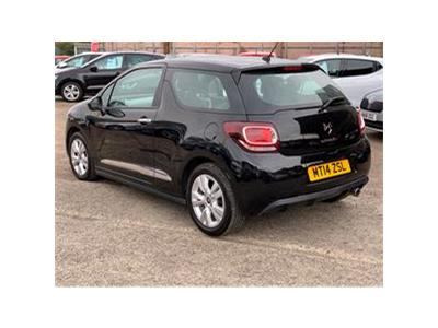 2014 CITROEN DS3 DSIGN PLUS 1199 PETROL MANUAL 5 Speed 3 DOOR HATCHBACK