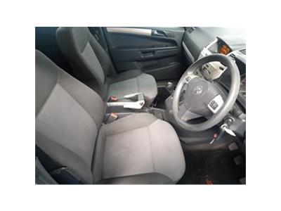 2008 VAUXHALL ZAFIRA EXCLUSIV 1598 PETROL MANUAL 5 Speed 5 DOOR MPV
