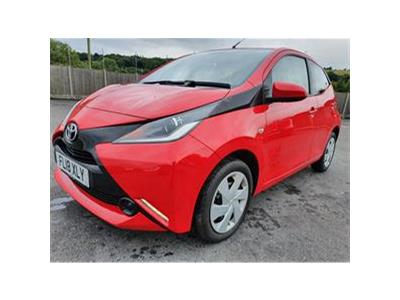 2018 TOYOTA AYGO VVT-I X-PLAY 998 PETROL MANUAL 5 Speed 5 DOOR HATCHBACK