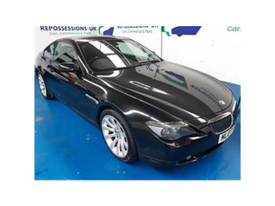 2007 BMW 6 SERIES 630I SPORT 2996 PETROL AUTOMATIC 6 Speed 2 DOOR COUPE
