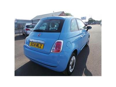 2014 FIAT 500 COLOUR THERAPY 1242 PETROL MANUAL  3 DOOR HATCHBACK