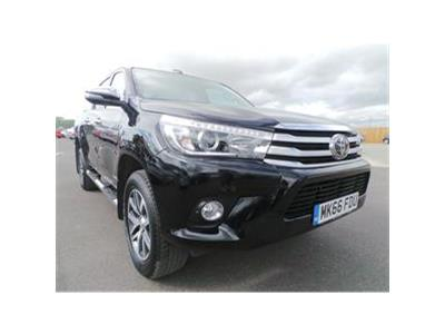 2016 TOYOTA HI-LUX INVINCIBLE 4WD D-4D DCB 2393 DIESEL AUTOMATIC 6 Speed PICK UP