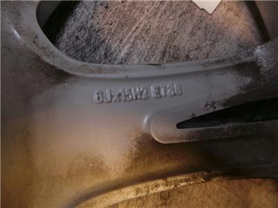 ALLOY WHEEL SEAT IBIZA 15 Inch Rim 6J0601025H - WHL14169
