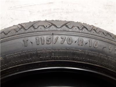 2008 VAUXHALL ZAFIRA 16 Inch Spare Wheel & Tyre Space Saver 115/70/16 + Jack KIt