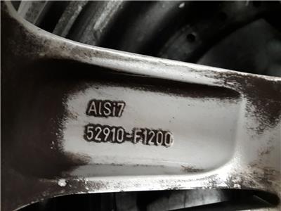 ALLOY WHEEL KIA Sportage 17 Inch 7x17 5 Stud 5 Twin Spoke