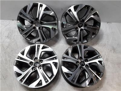 CITROEN C4 PICASSO SET OF 17 INCH ALLOYS  7.0X17 OFFSET UNKNOWN