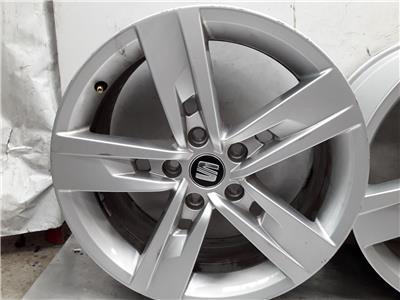 Set Of 2018 Genuine 17 Inch SEAT LEON Alloy Wheels Rims 5x112 7x17 ET49 Set Of 4