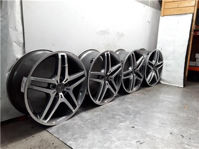Set Of Genuine 21 Inch MERCEDES GLE Alloy Wheels Rims 9x19 ET53.5 Set Of Four