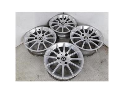 Set Of Genuine 15 Inch SMART FORTWO Alloy Wheels Rims 4.5J 5.5J A4514010402/004