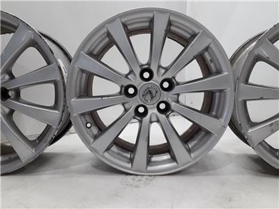 Set Of Genuine 17 Inch LEXUS IS Alloy Wheels Rims 5x114.3 8x17 ET45 Set Of Four