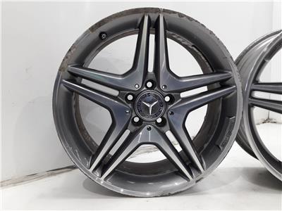 Set Of Genuine 18 Inch MERCEDES B-CLASS A-CLASS Alloy Wheels Rims ET52 5x112