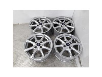 Set Of Genuine 15 Inch FORD FIESTA TRANSIT COURIER Alloy Wheels Rims H1BC-A1B