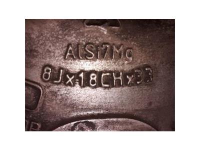 ALLOY WHEEL JAGUAR XKR 18 Inch Rim   MJB 6118AB - WHL123035