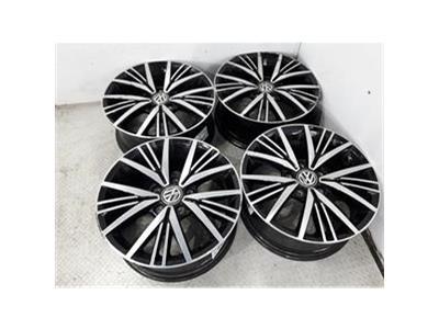 Set Of Genuine 16 Inch VOLKSWAGEN GOLF CADDY Alloy Wheels Rims 5G0601025CD 5x112