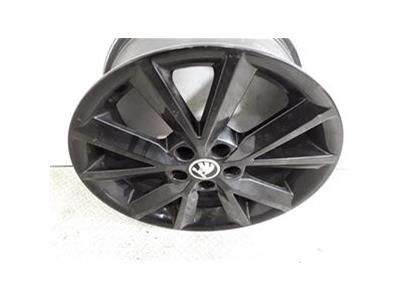 Set Of Genuine 16 Inch SKODA FABIA RAPID Alloy Wheels Rims 5JA601025B8Z8 5x100