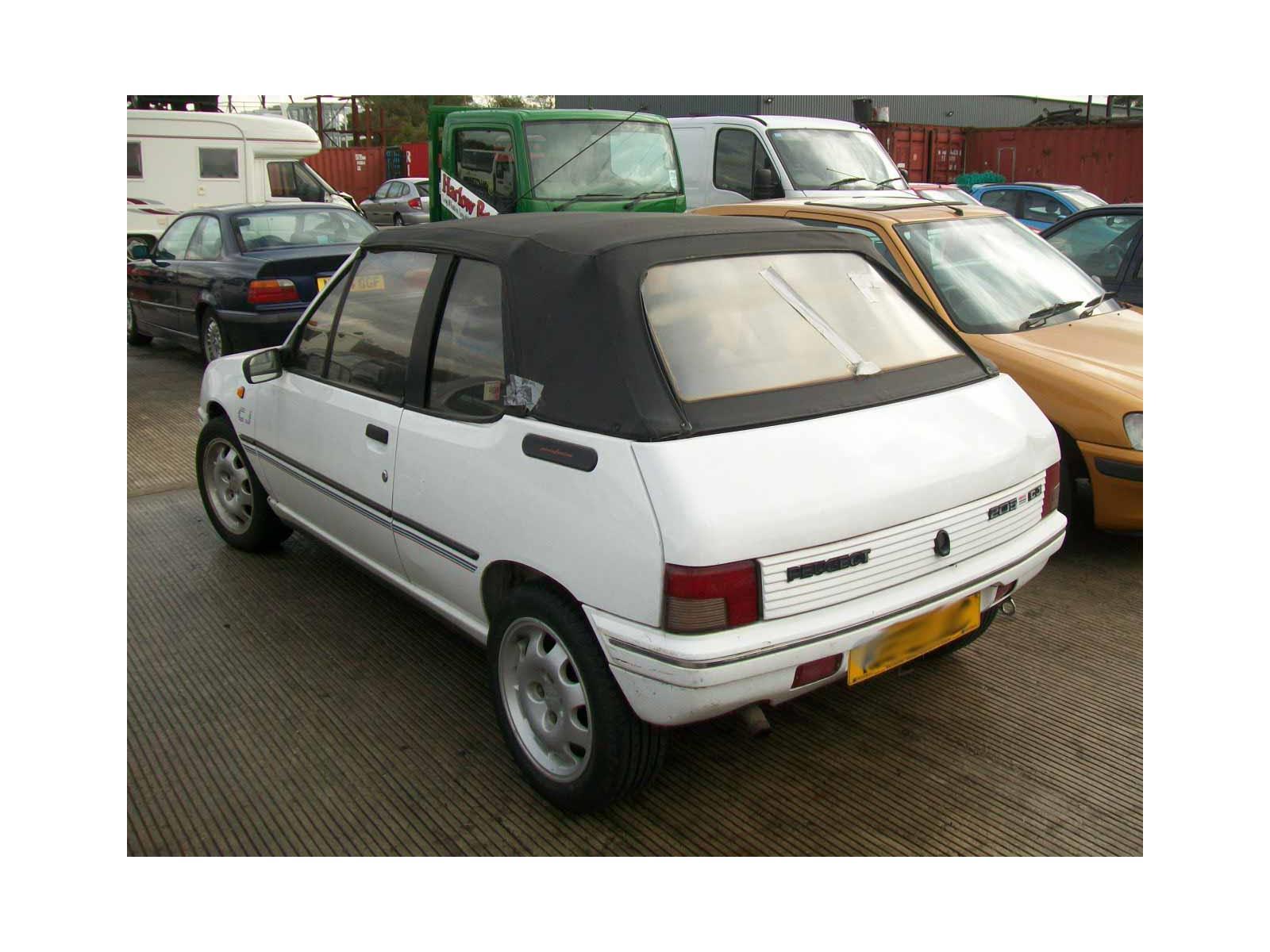 peugeot 205 1988 to 1997 2 door cabriolet petrol manual breaking rh motorhog co uk Peugeot 204 manual instrucciones peugeot 205 mito