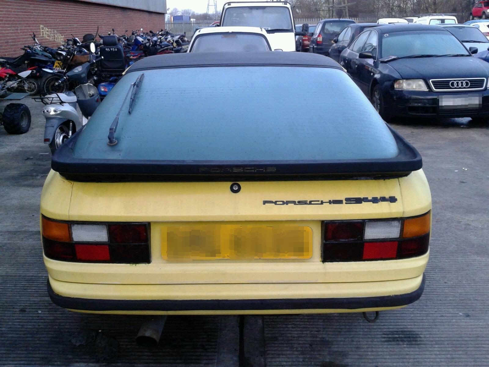 ... Porsche 924 1976 To 1988 2 Door Coupe ...