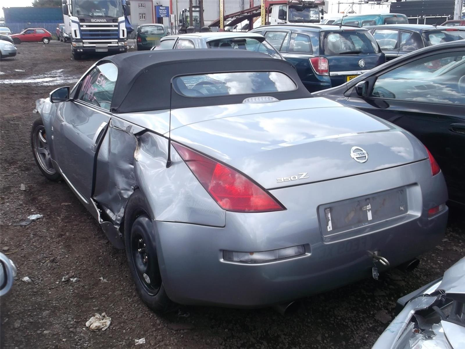 Nissan 350z 2003 To 2007 Lamp Assembly Rear Lh Petrol Manual For Engine Schematics Tail Light 03 07 2 Door Cabriolet Passengers Side 1319412