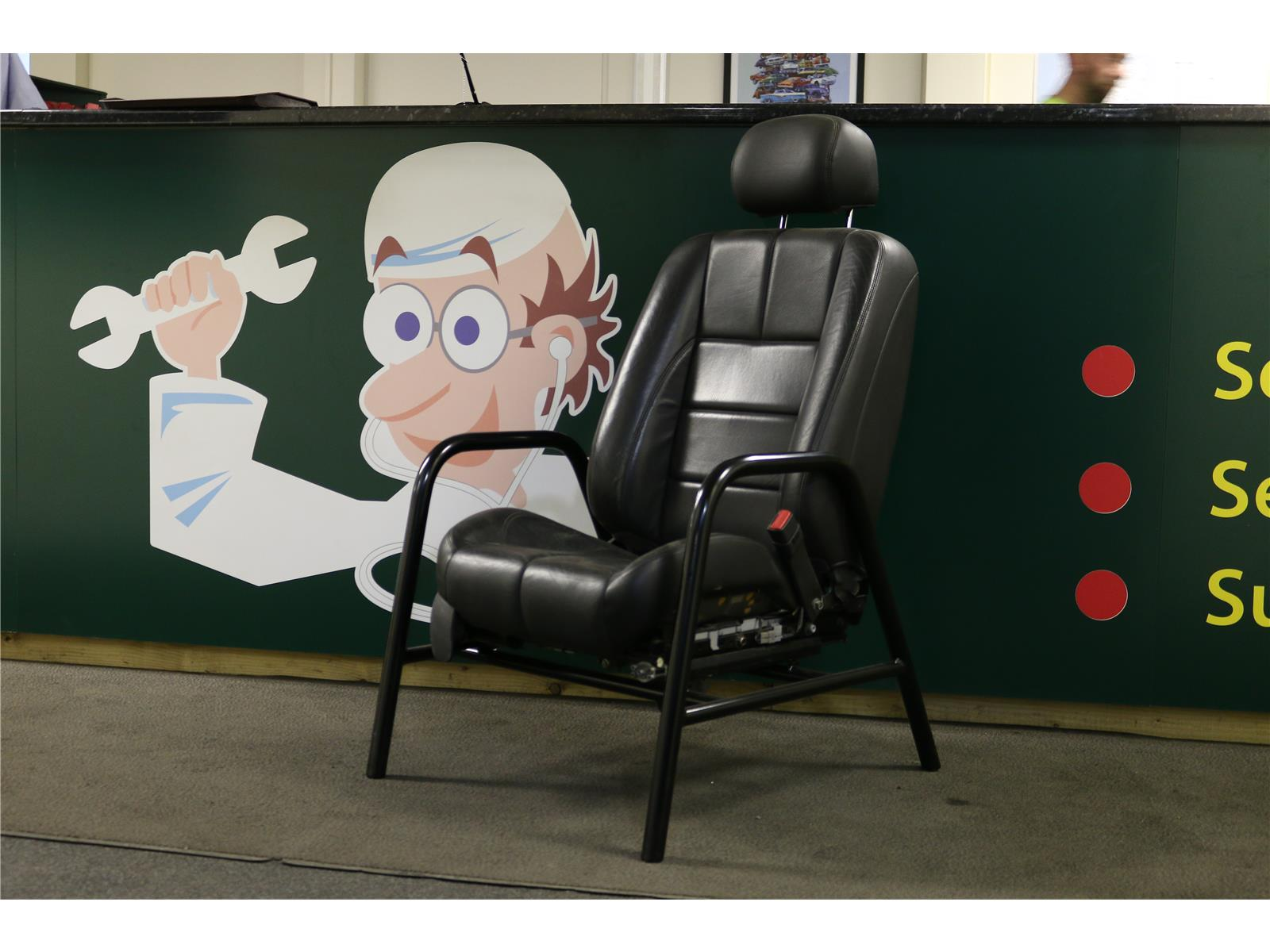 OTHER BRITISH TOP GEAR SEAT