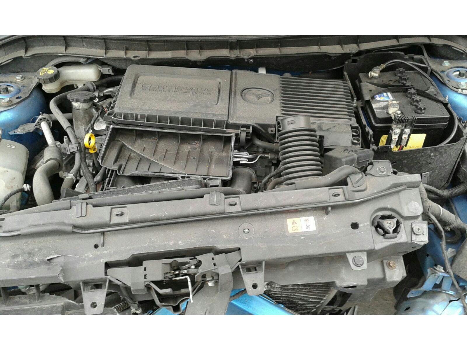 2009 Mazda 3 2008 To 2011 5 Door Hatchback Petrol Manual Engine Parts Diagram
