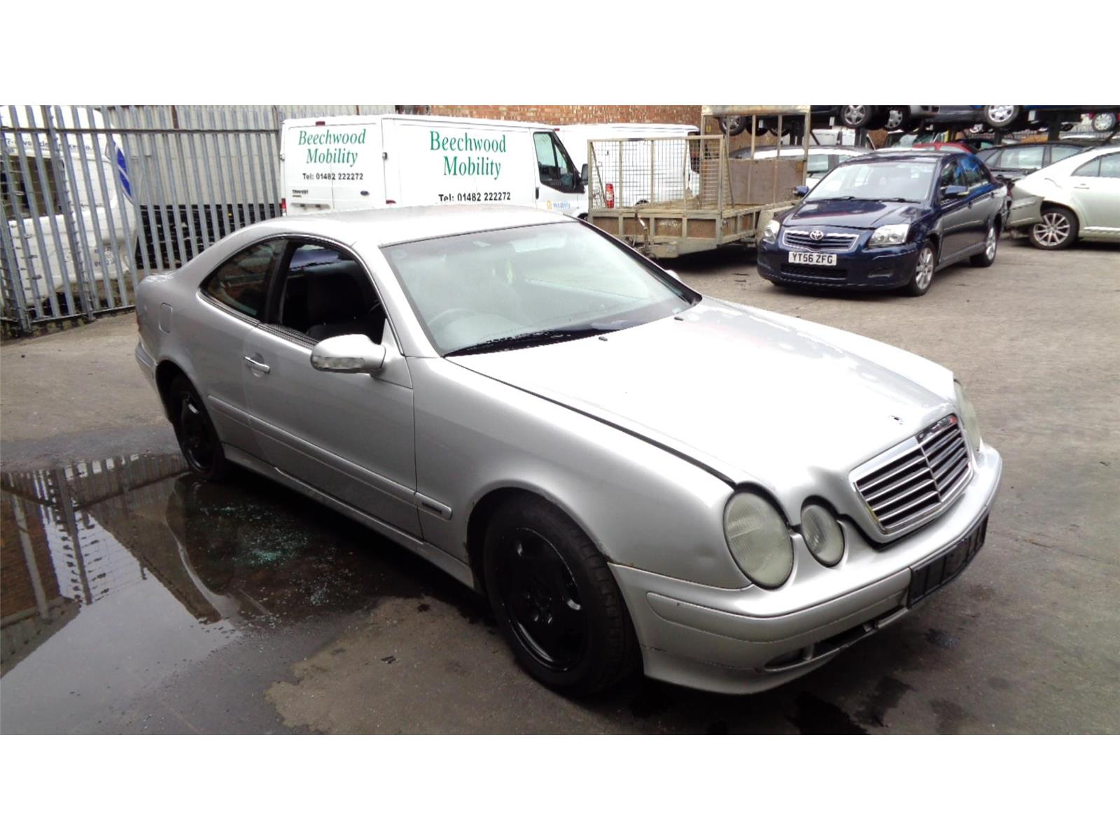 ... Mercedes-Benz CLK Class 1997 To 2002 2 Door Coupe ...