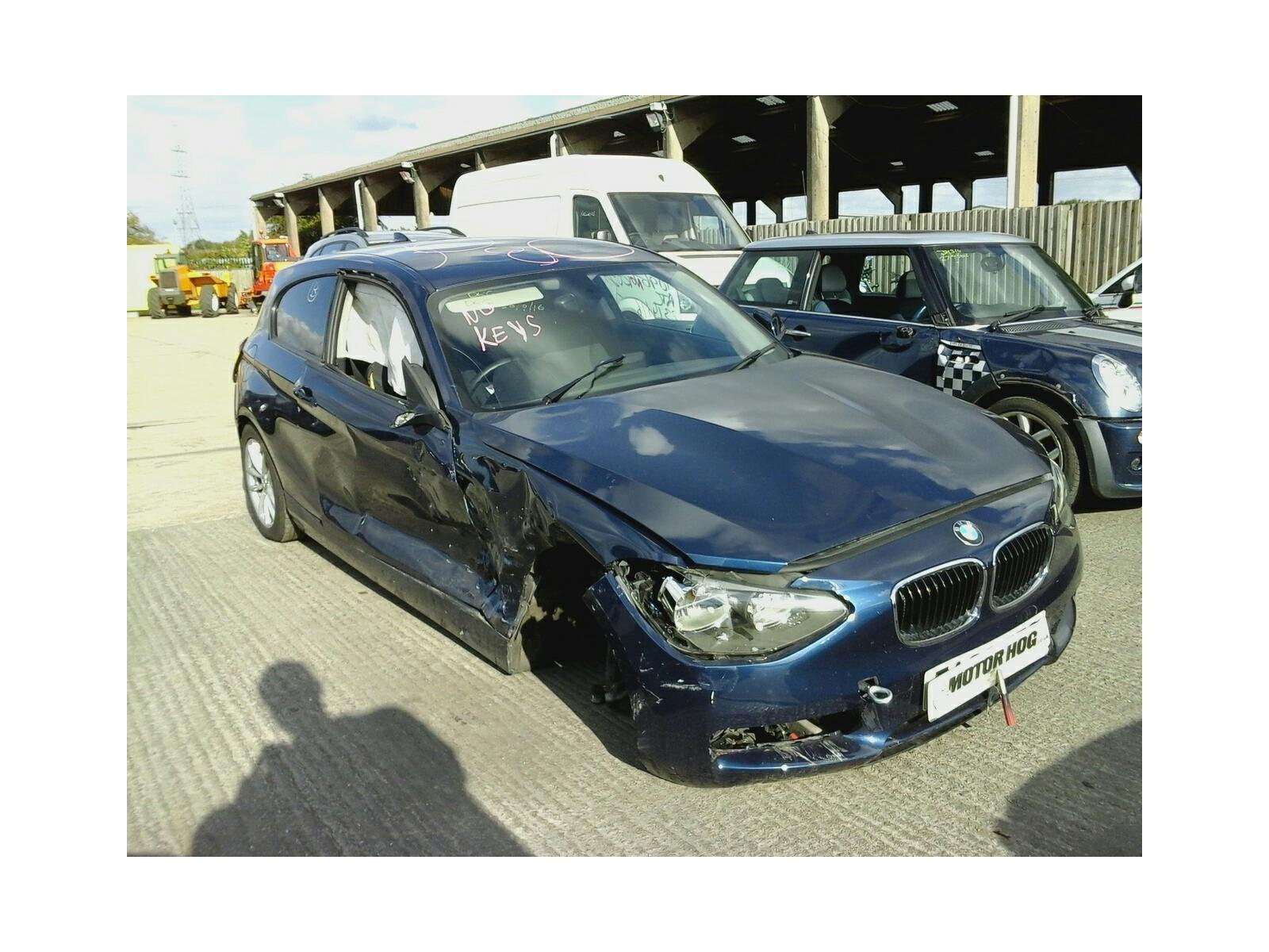 2013 BMW 1 Series 2011 To 2015 3 Door Hatchback (Diesel / Manual ...