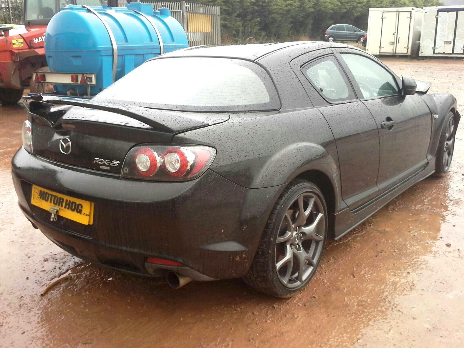 mazda rx8 2008 black