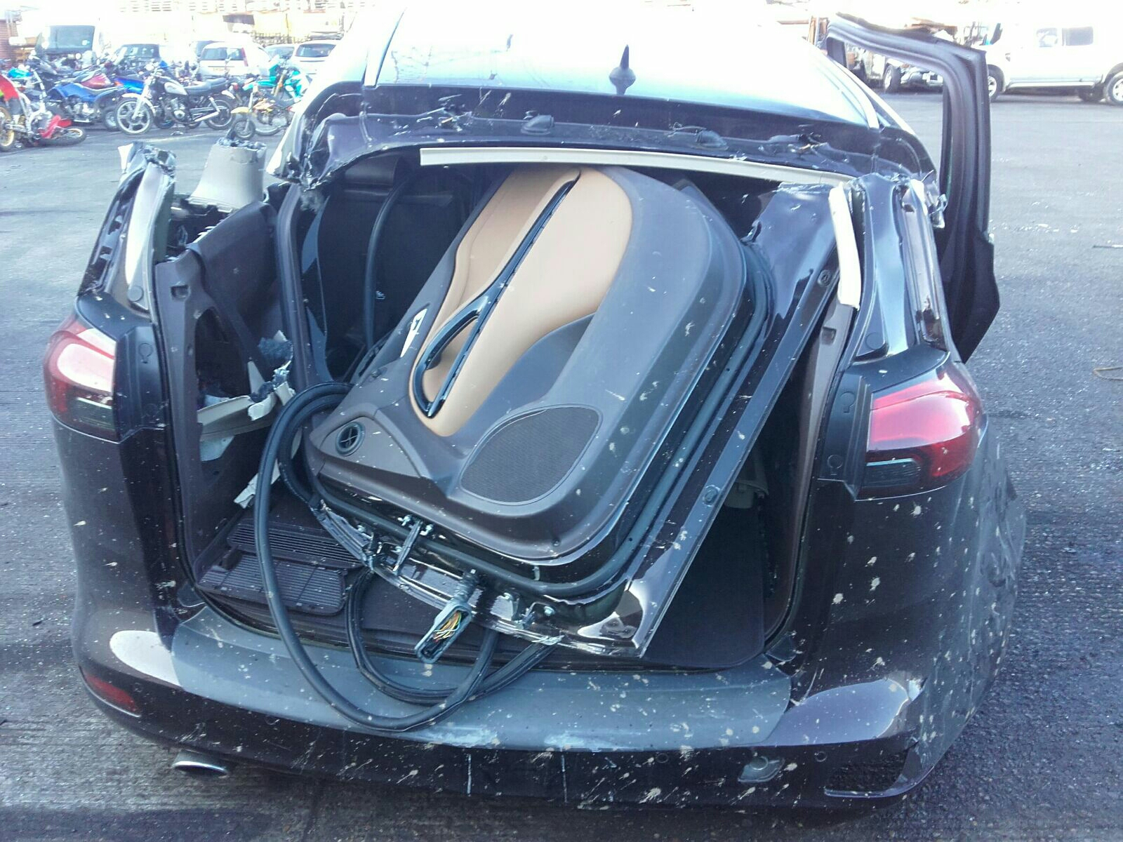 2014 Vauxhall Zafira Tourer 2012 To 2016 Mpv Diesel Automatic Boot