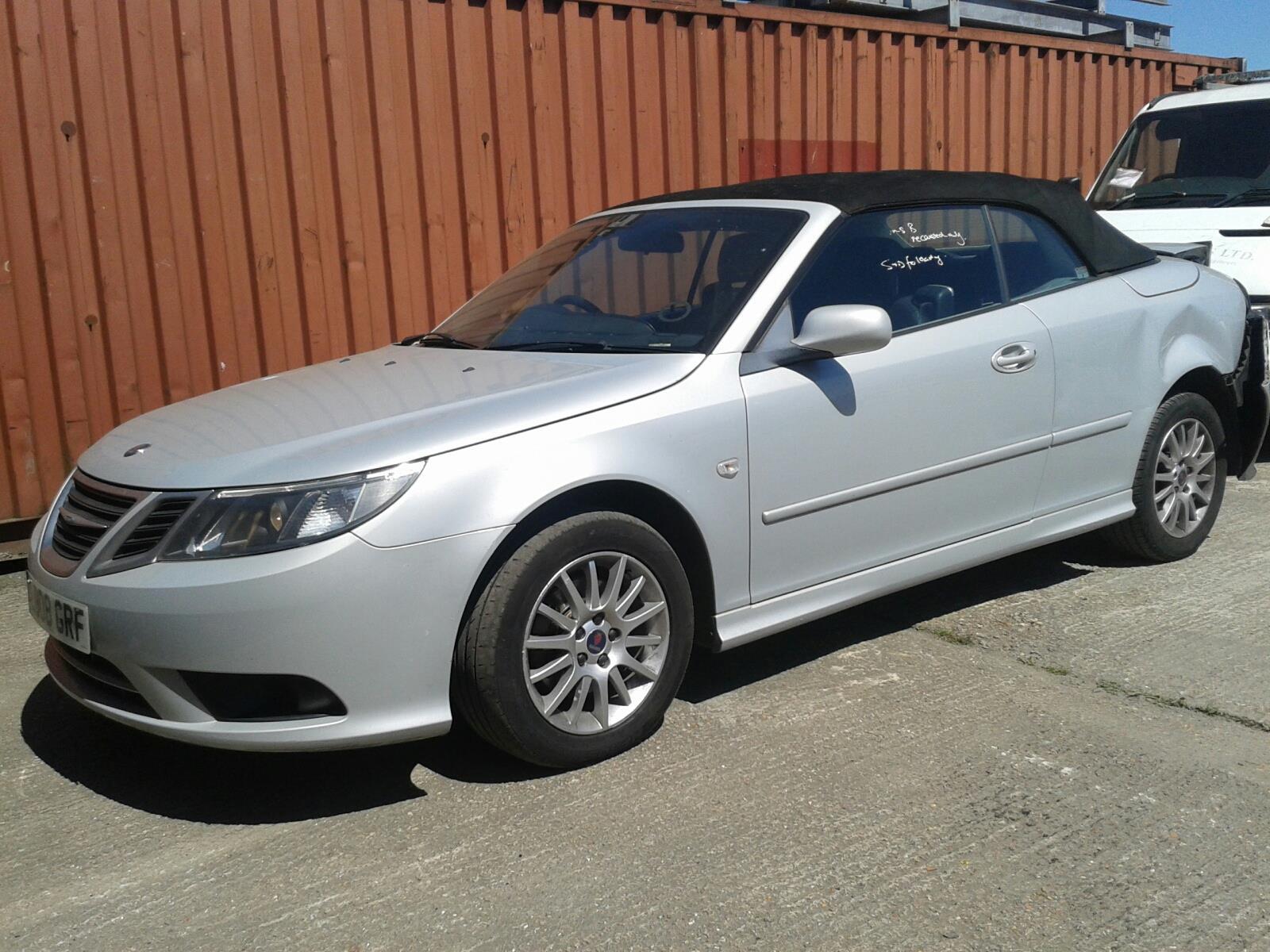Saab 9-3 2007 To 2011 2 Door Cabriolet