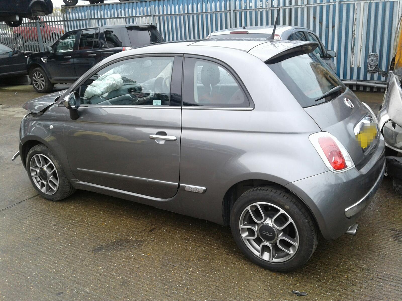 2012 Fiat 500 2008 To 2015 3 Door Hatchback Petrol Manual Spare Tire Location