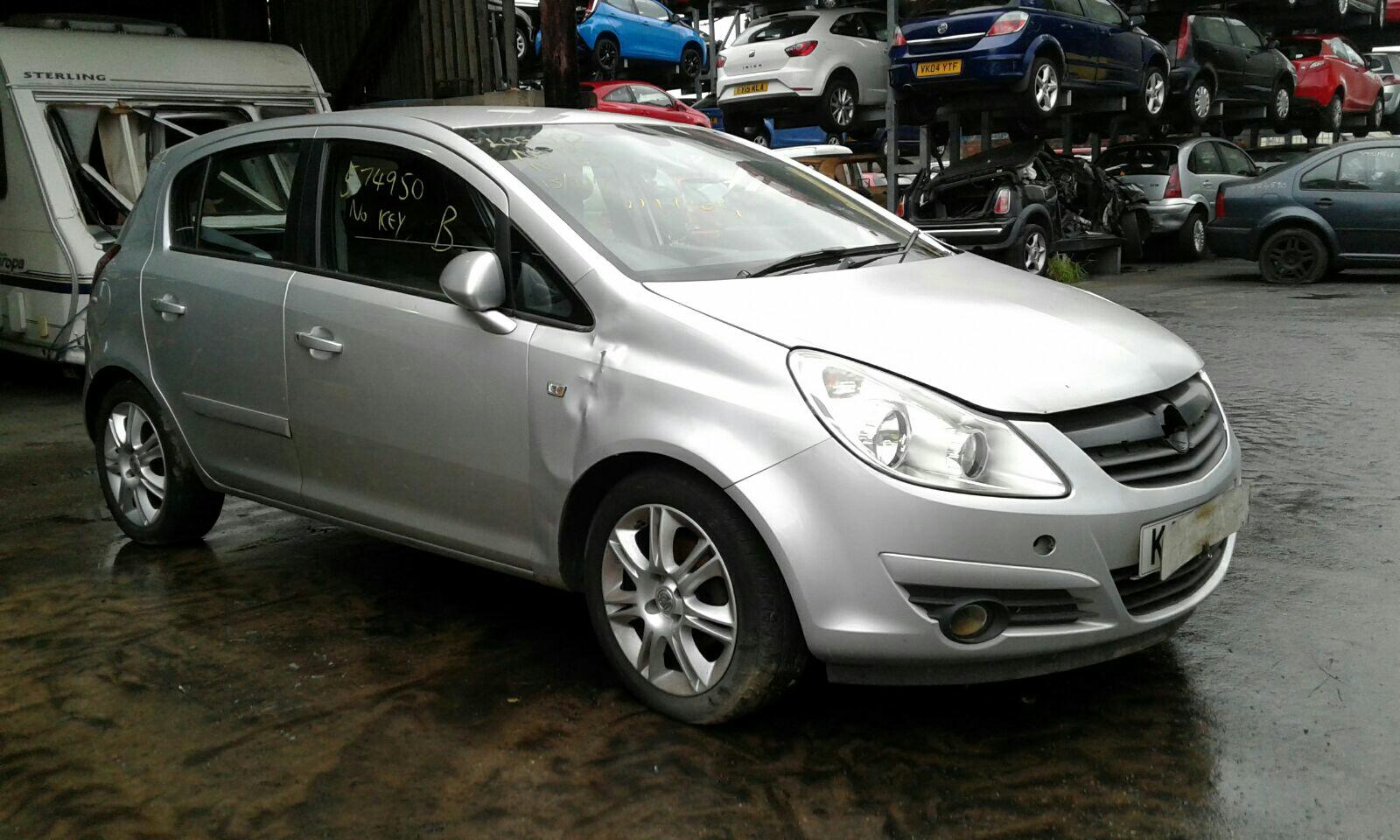 Vauxhall Corsa 2007 To 2011 5 Door Hatchback & 2007 Vauxhall Corsa 2007 To 2011 5 Door Hatchback (Petrol / Manual ...
