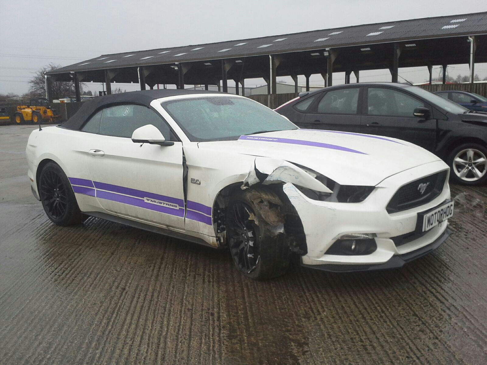 Ford mustang 2015 to 2018 2 door cabriolet