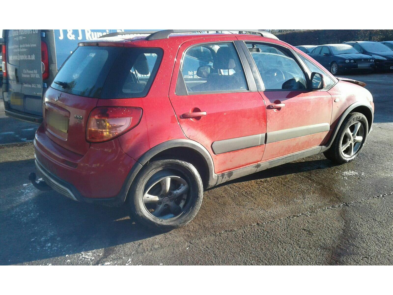 2007 Suzuki SX4 2006 To 2009 5 Door 4x4 (Petrol / Manual) breaking