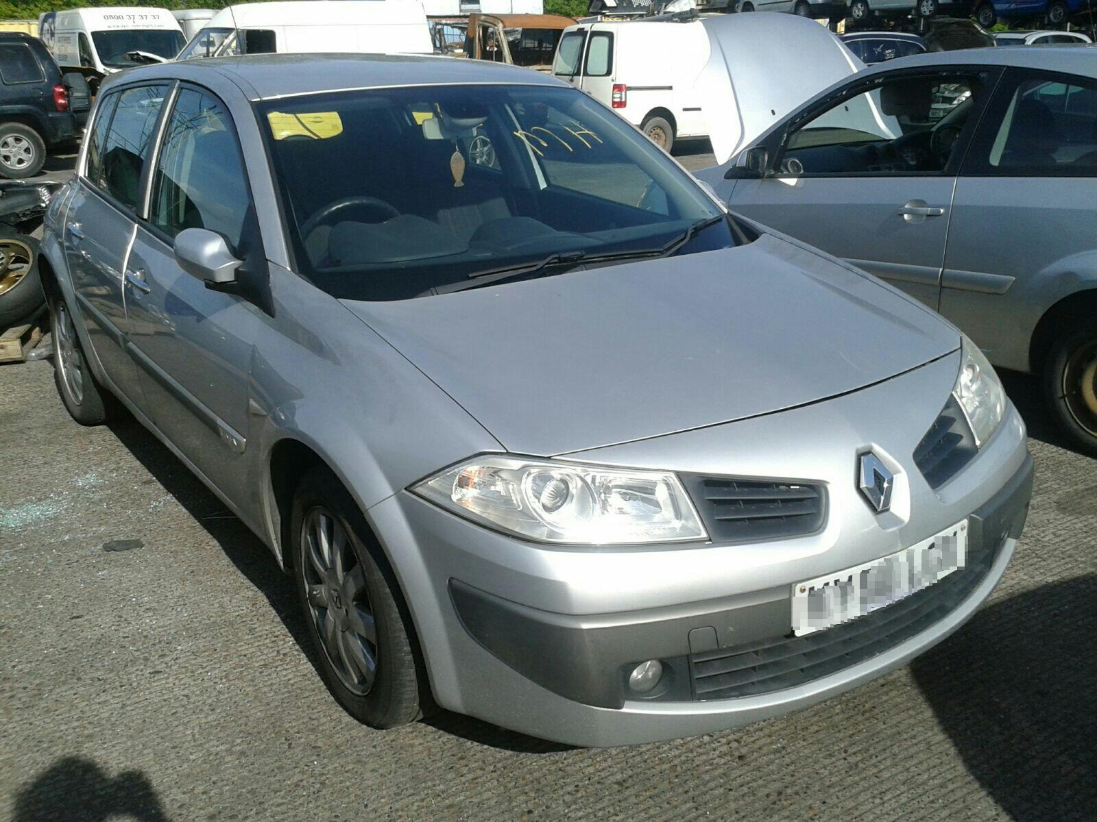 Renault Megane 2002 To 2005 5 Door Hatchback