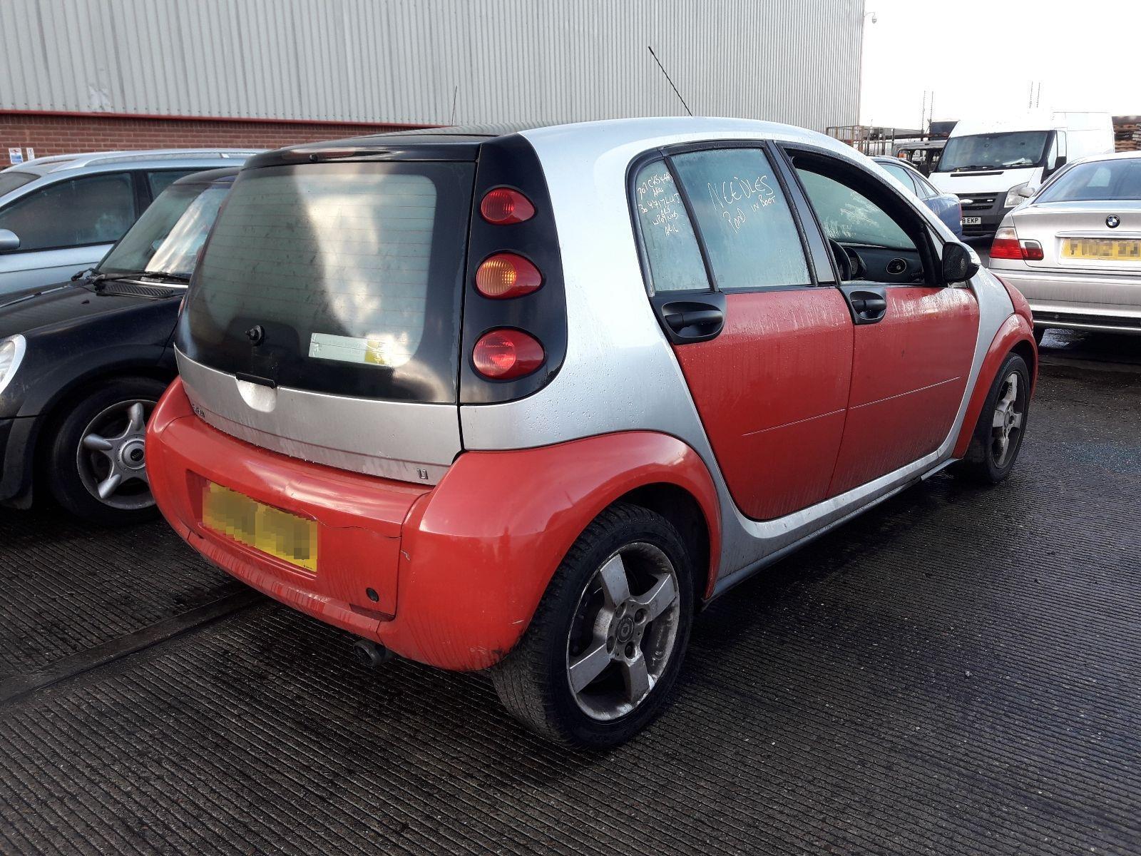 ... Smart Forfour 2004 To 2008 5 Door Hatchback ...