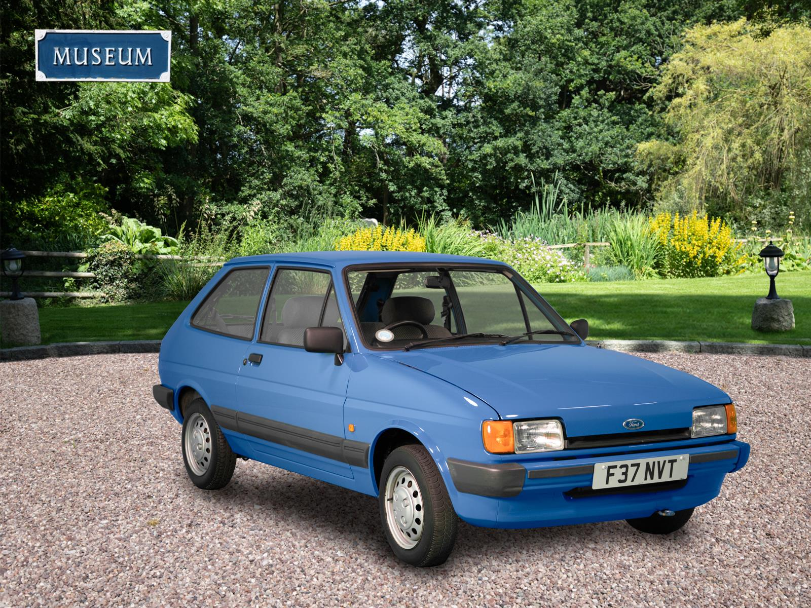 1988 FORD FIESTA MK2 1983 TO 1989 3 DOOR HATCHBACK