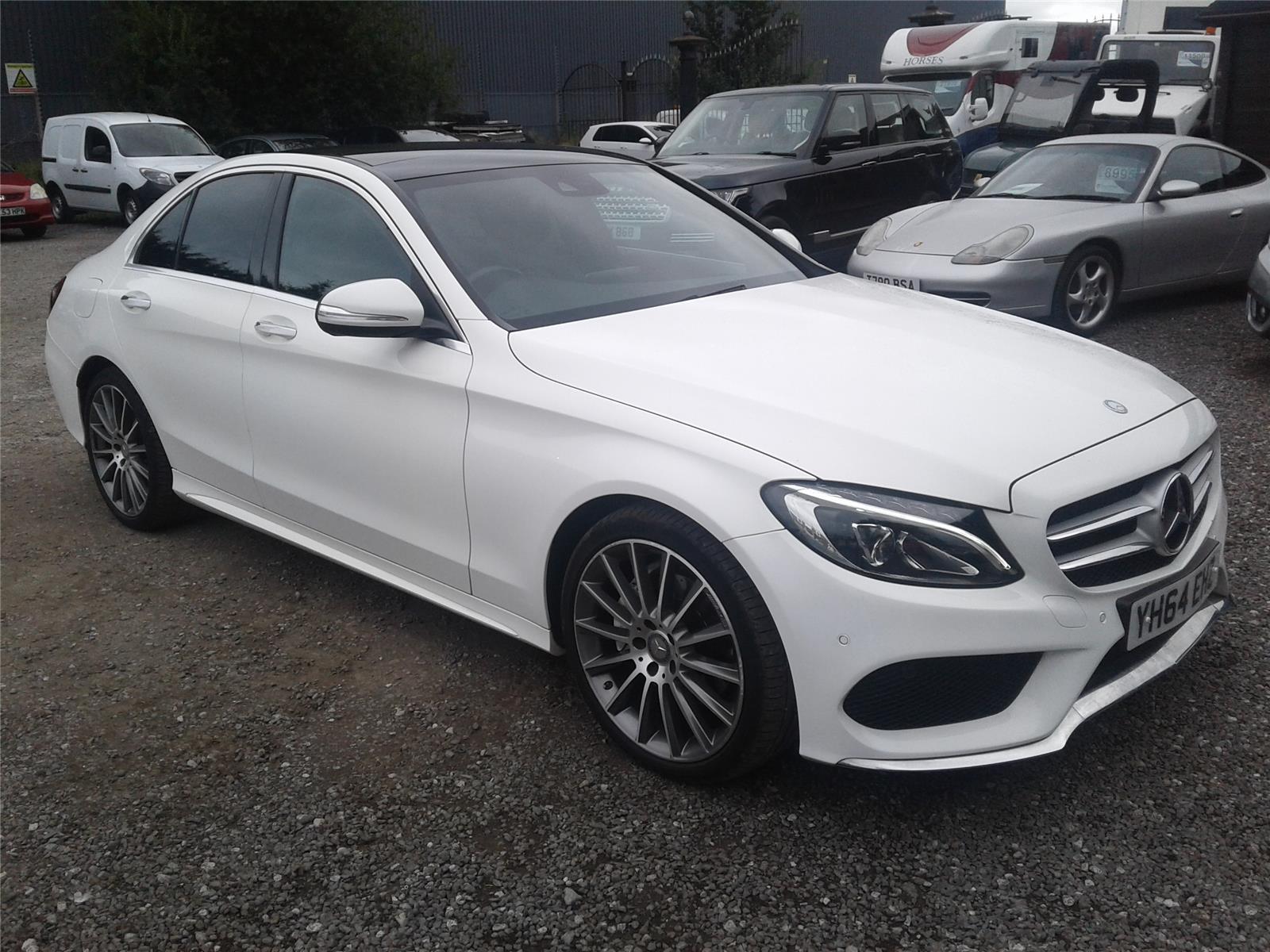 2014 Mercedes-Benz C Class C220 AMG Line Premium Plus Blu 2143 Diesel Automatic 7 Speed 4 Door Saloon
