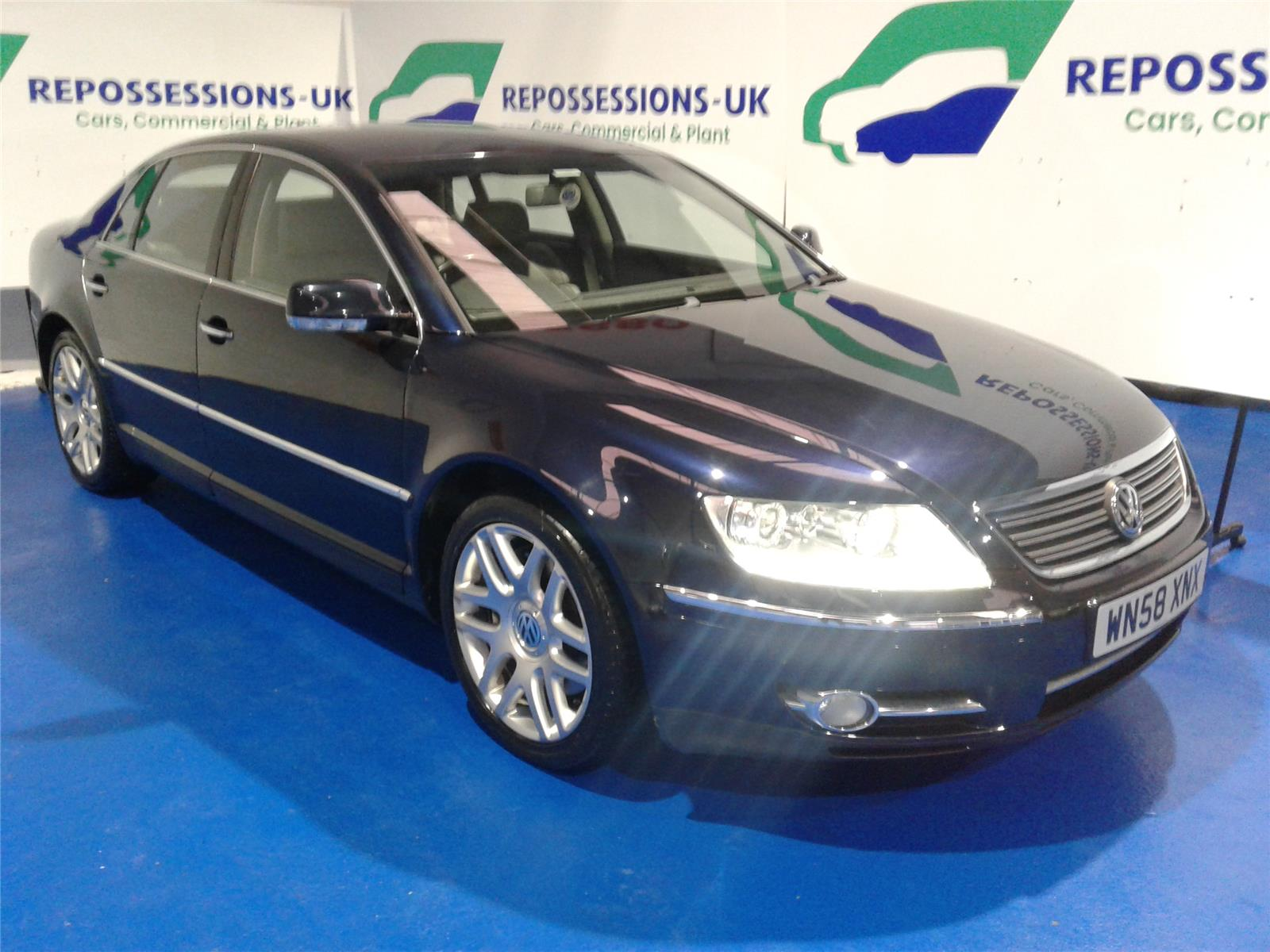 2008 VOLKSWAGEN PHAETON V6 TDI 4MOTION 5 SEATS 2967 DIESEL AUTOMATIC 6 Speed 4 DOOR SALOON