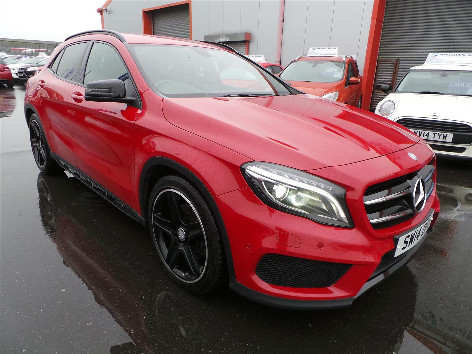2014 MERCEDES GLA-CLASS GLA220 CDI 4MATIC AMG LINE PRE 2143 DIESEL AUTOMATIC 7 Speed 5 DOOR ESTATE
