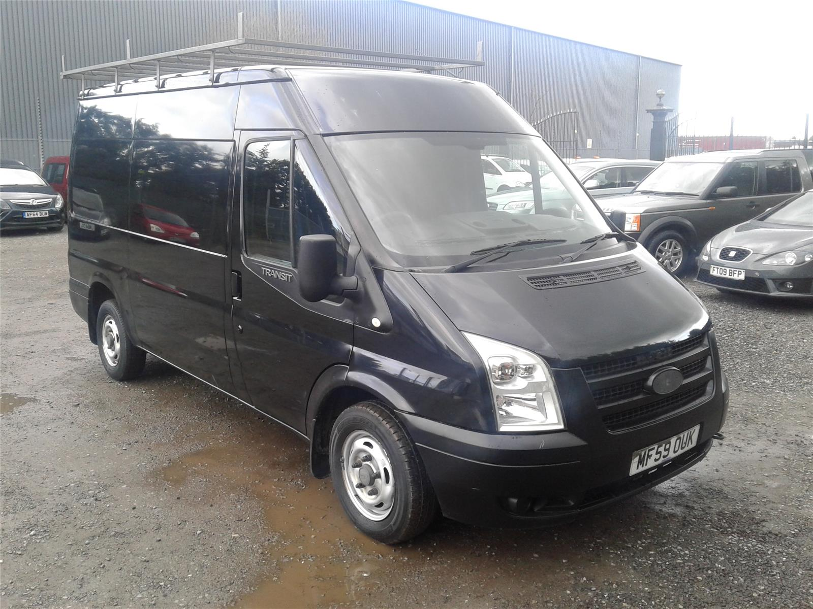 2009 Ford Transit 300 SHR 2198 Diesel Manual 6 Speed Van