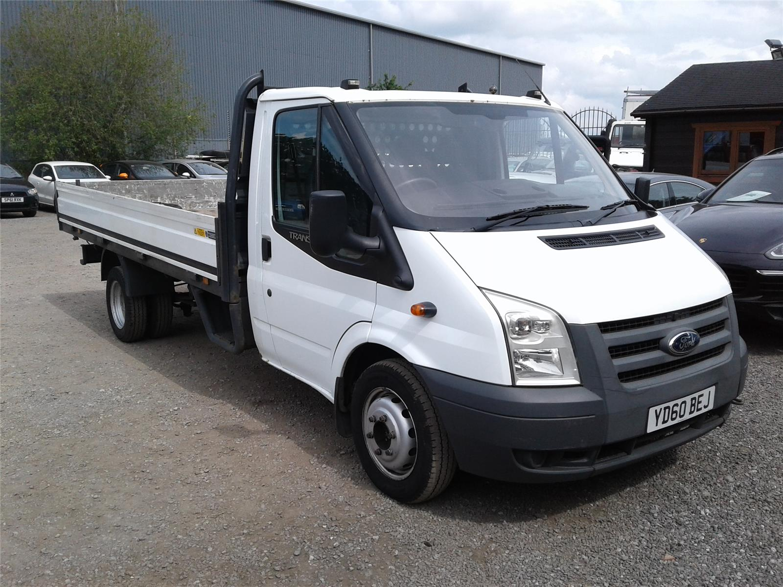 2010 Ford Transit 350EF Jumbo DRW LWB High Roof 2402 Diesel Manual 6 Speed L.C.V.