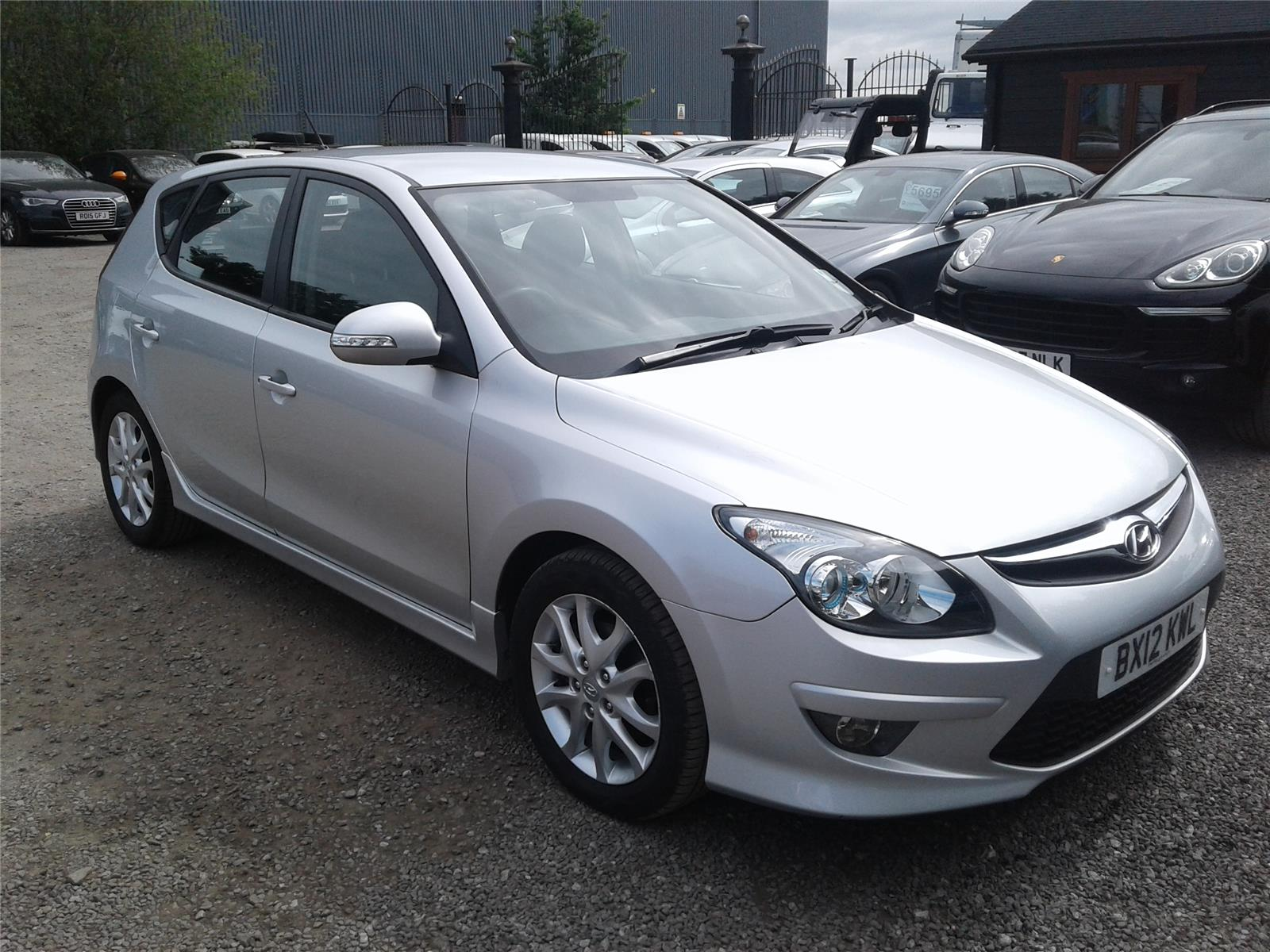 2012 Hyundai i30 Comfort 1582 Diesel Manual 6 Speed 5 Door Hatchback