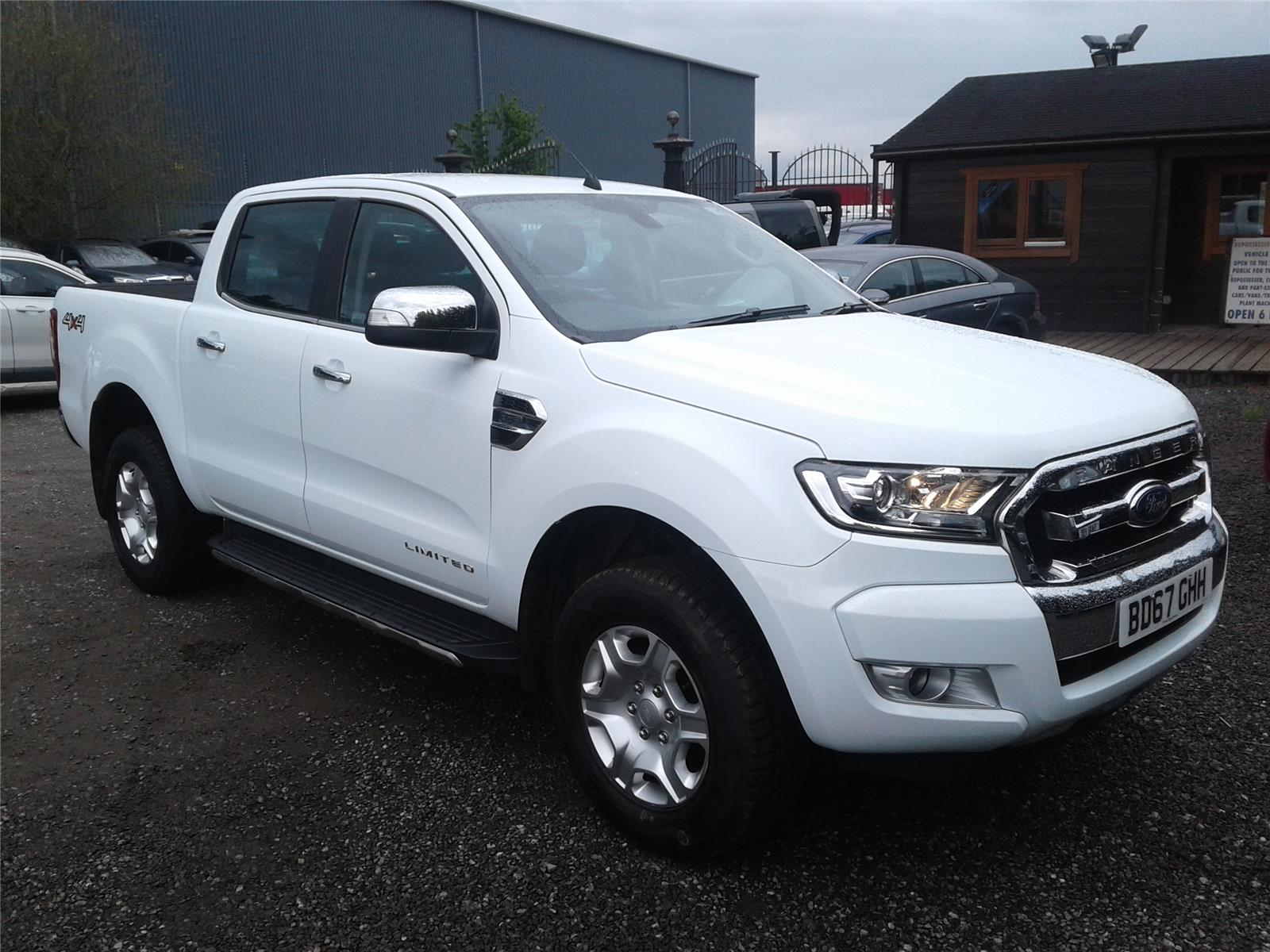 2017 Ford Ranger Limited 1 Double Cab TDCi 4WD 3196 Diesel Automatic 6 Speed Pick-Up
