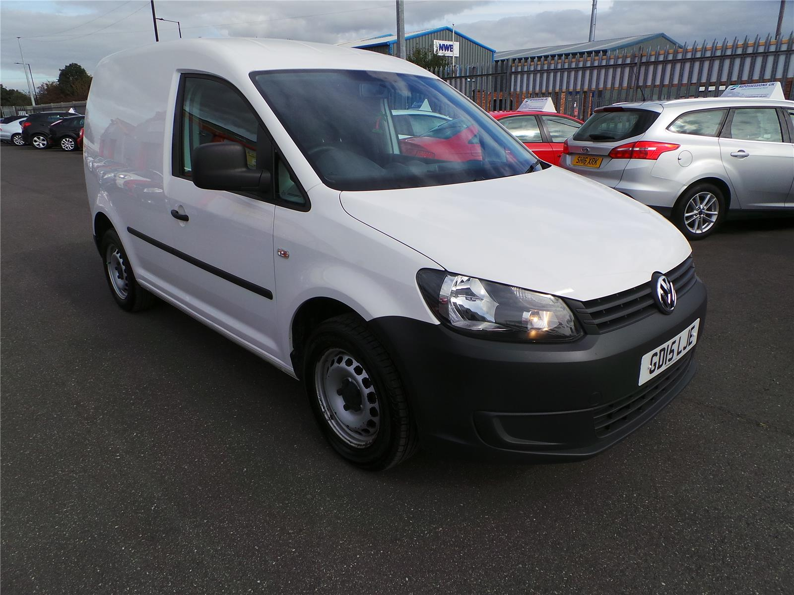 2015 Volkswagen Caddy Startline TDi Bluemotion 1598 Diesel Manual 5 Speed Van L/Side