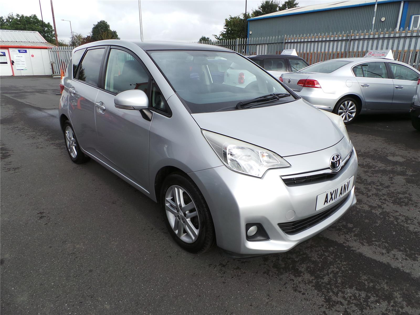 2011 TOYOTA VERSO-S T Spirit 1329 PETROL MANUAL 6 Speed 5 DOOR MPV