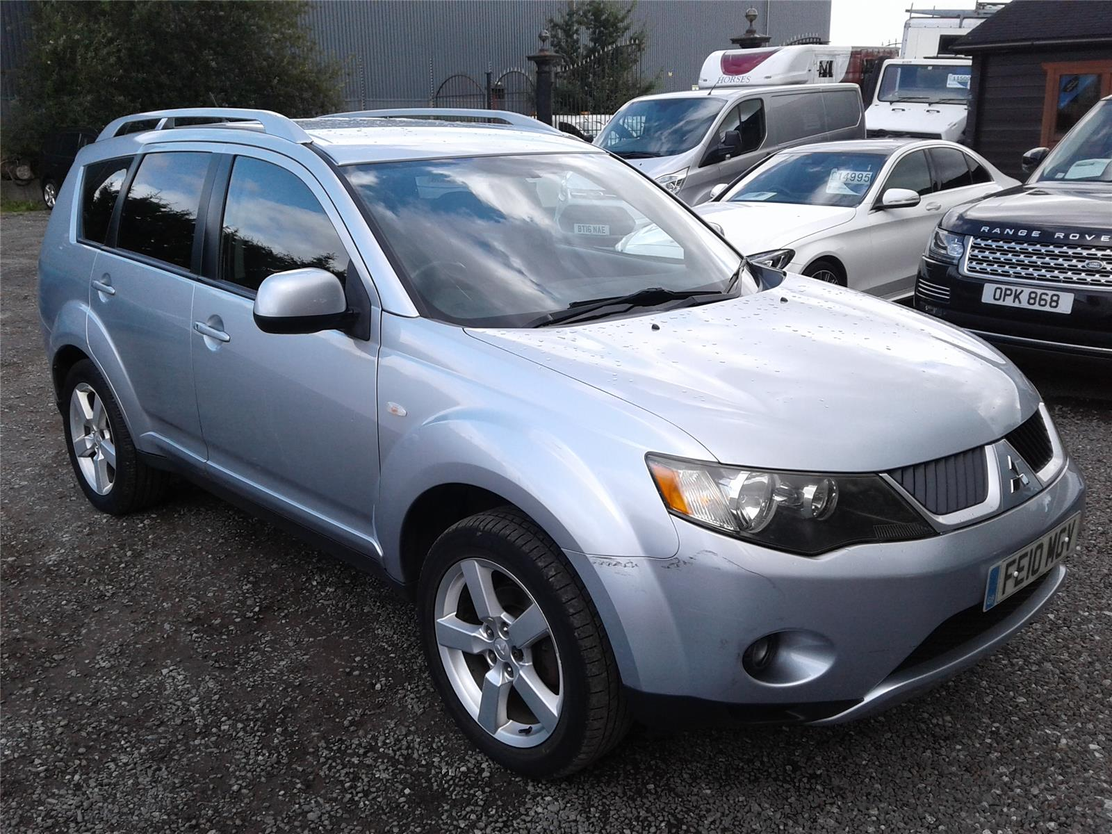 2010 Mitsubishi Outlander SE 1968 Diesel Manual 6 Speed 5 Door 4x4