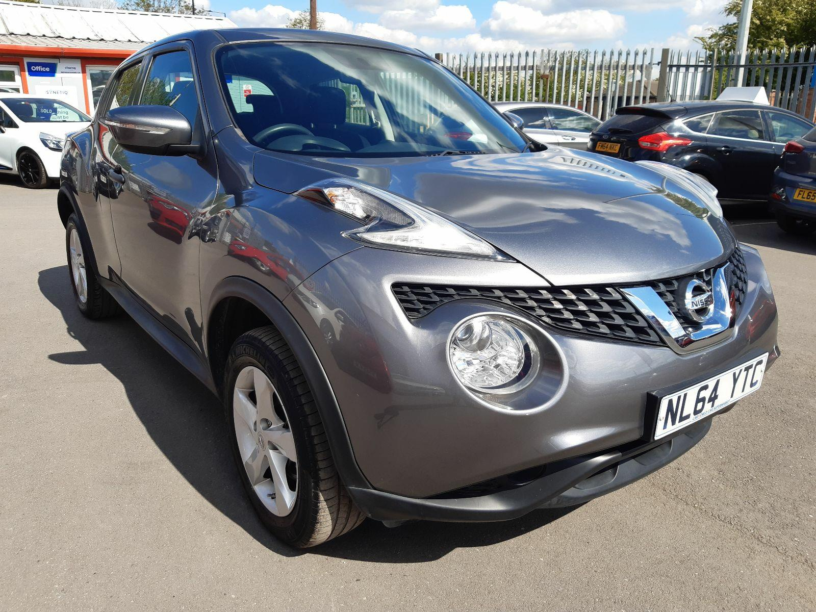 2014 NISSAN JUKE VISIA DCI 1461 DIESEL MANUAL 5 DOOR HATCHBACK