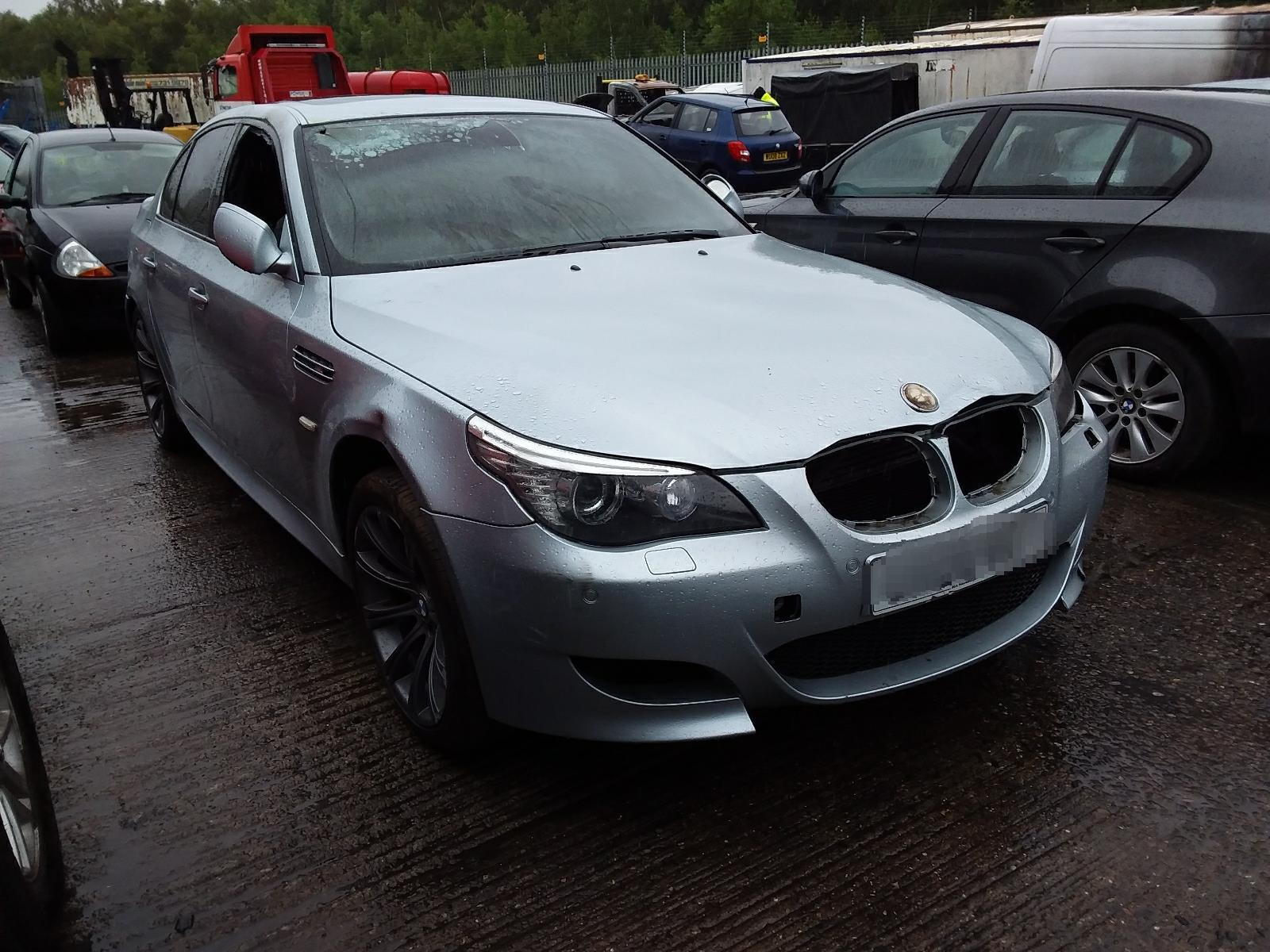 Synetiq 2008 Bmw 5 Series E60 Lci 2003 To 2010 M5 4 Door Saloon Petrol Manual Breaking For Used And Spare Parts