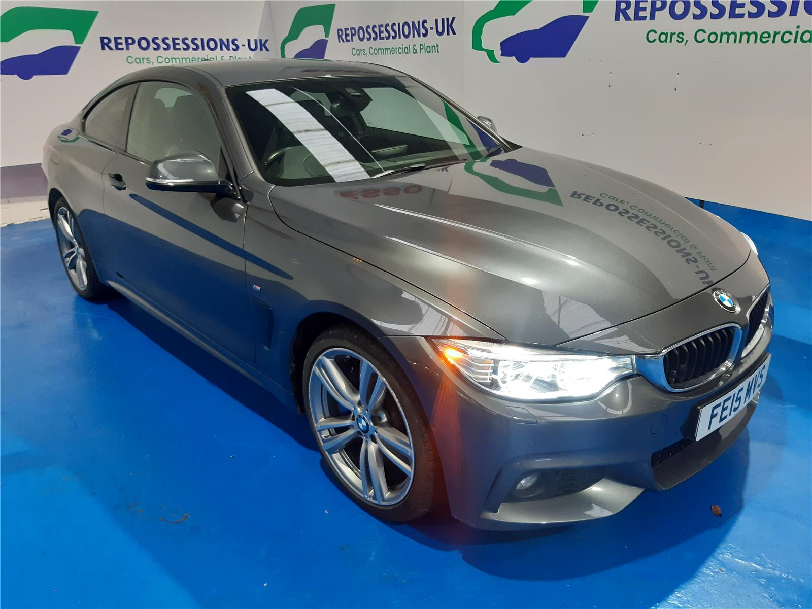 2015 BMW 4 SERIES 435D XDRIVE M SPORT 2993 DIESEL AUTOMATIC 8 Speed 2 DOOR COUPE