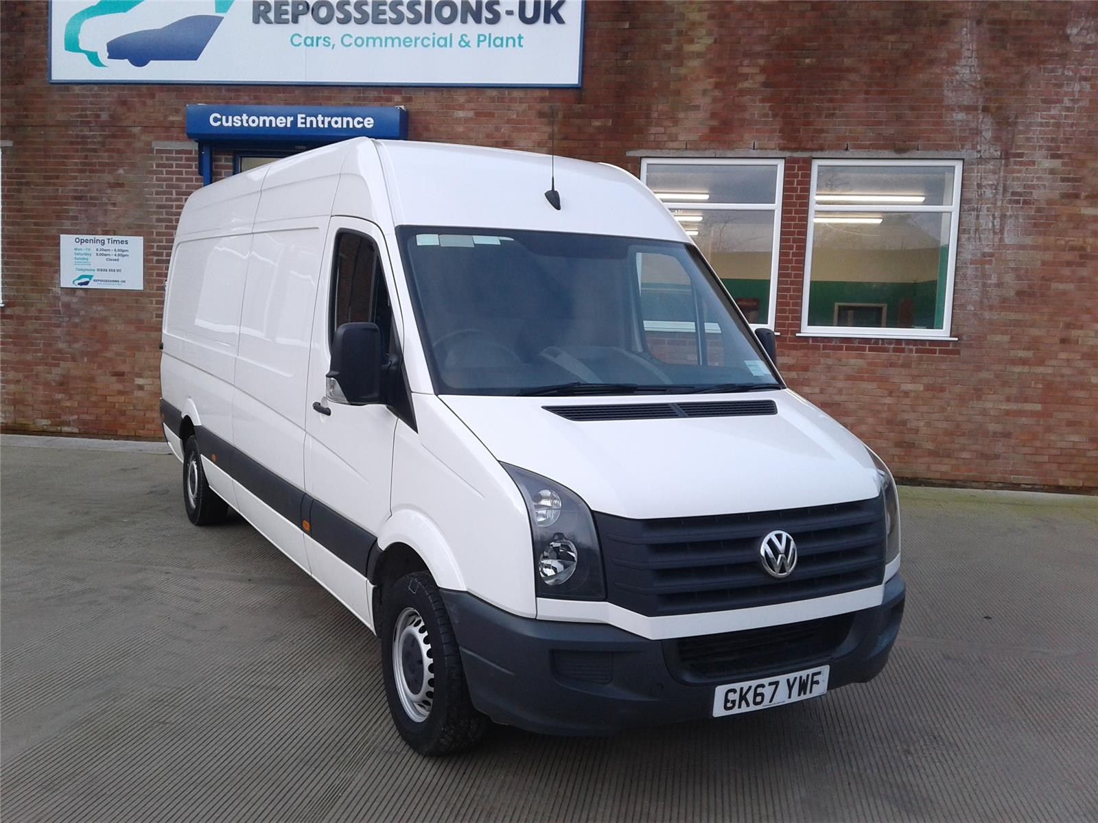 2017 VOLKSWAGEN CRAFTER CR35 TDI P/V L BMT 1968 DIESEL MANUAL 6 Speed PANEL VAN